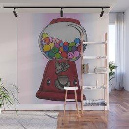 Little bubblegum machine Wall Mural