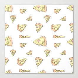 Pick Your Pizza Slices! Canvas Print