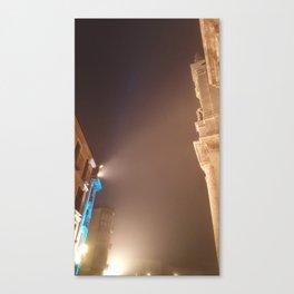 Valladolid at night Canvas Print