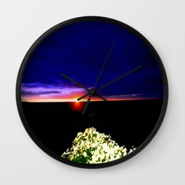 Endeavour Bay Wall Clock