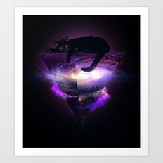 The king of the known universe Art Print