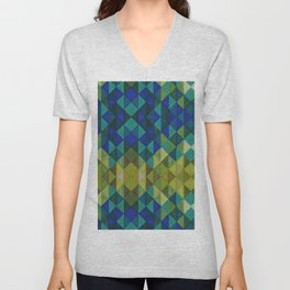 Geometric Spectrum Unisex V-Neck