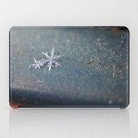 snowflake iPad Cases featuring Snowflake by LainPhotography
