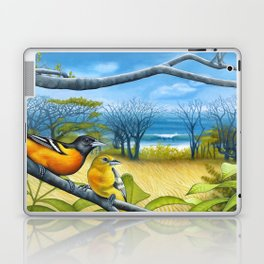 Surf Report Laptop & iPad Skin