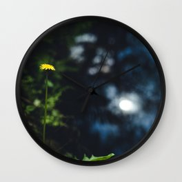 Reflection in the river Wall Clock