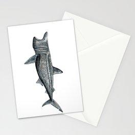 Basking shark (Cetorhinus maximus) Stationery Cards