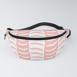 Wavy Stripes Peach Fanny Pack