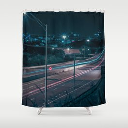 Chattanooga at Night Shower Curtain