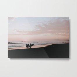 lets surf xi / peru Metal Print