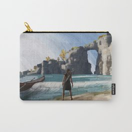 Greek beach Carry-All Pouch