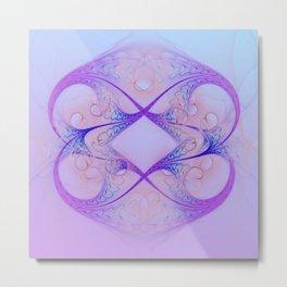symmetry on pastell Metal Print