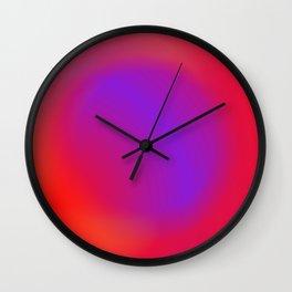 hole in alien sky Wall Clock