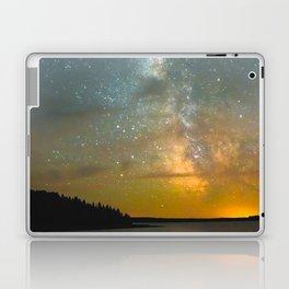 Milky Way Galaxy in Manitoba Laptop & iPad Skin
