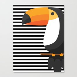 TOUCAN tropical toucans Canvas Print