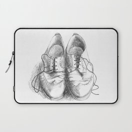 These Shoes Were Made for Working Laptop Sleeve