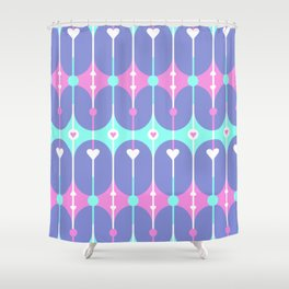 Unicorn Guts // Spring Hearts Shower Curtain