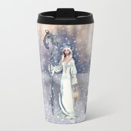 Awakening Winter Travel Mug