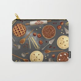 Pie Day Pattern Carry-All Pouch