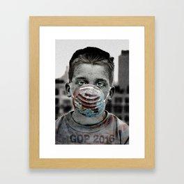 GOP 2016 Framed Art Print
