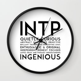 INTP Wall Clock