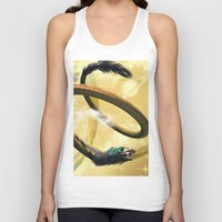 dragon Tank Tops featuring Dragon by nicky2342