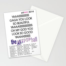 artRAVE 2014 Stationery Cards