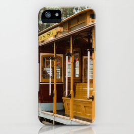 San Francisco Cable Car iPhone Case