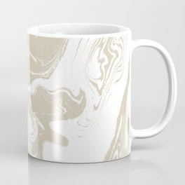 Pokiro - spilled ink abstract minimal swirl ocean watercolor marbled paper marble pattern texture Coffee Mug