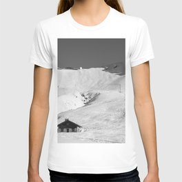 Mountain Huts, Alps, Arcs T-shirt