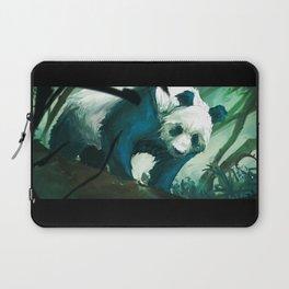 The Lurking Panda Laptop Sleeve