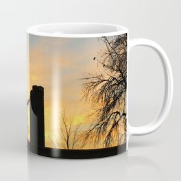 City Sunset Coffee Mug