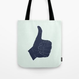 Thumbs Up Tote Bag