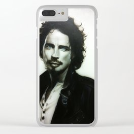 'Chris Cornell' Clear iPhone Case