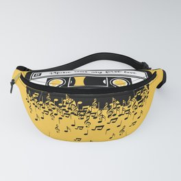 Retro Tape Fanny Pack