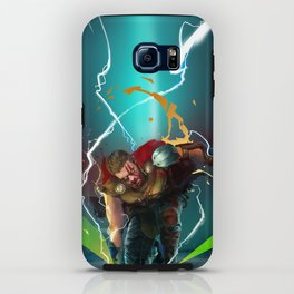 God of Thunder iPhone Case