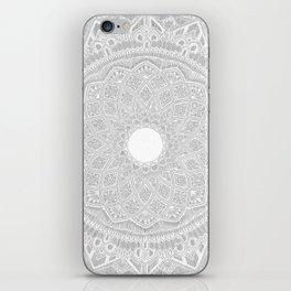 Dedication to Dalton (white on white) iPhone Skin