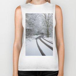 When The Snow Stops Biker Tank