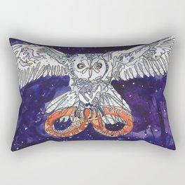 Owl & Snake Rectangular Pillow