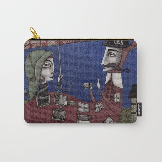 Tea for Two (1) Carry-All Pouch