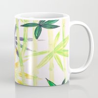 bamboo Mugs featuring Bamboo by Federico Faggion