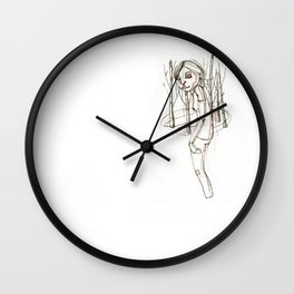 JANE (5) Wall Clock