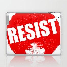 Angela Davis - Resist (red version) Laptop & iPad Skin