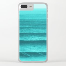 GONE SURFING Clear iPhone Case