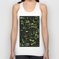 shoes Tank Tops featuring SHOES by Slaney Hopkins Illustration