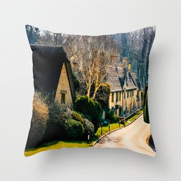 Charming Cotswolds. Throw Pillow