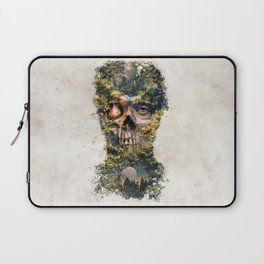 The Gatekeeper Surreal Dark Fantasy Laptop Sleeve