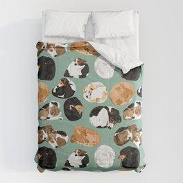 Coonie Curl Green Comforters