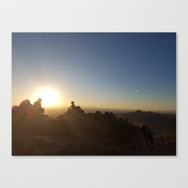 On Top of Camelback Canvas Print