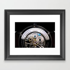 inner time Framed Art Print