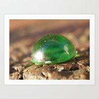 gem Art Prints featuring gem by Dottie